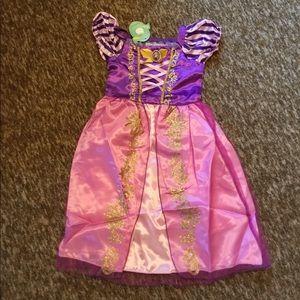 Pink and Purple Princess Dress Costume (4-5 years)